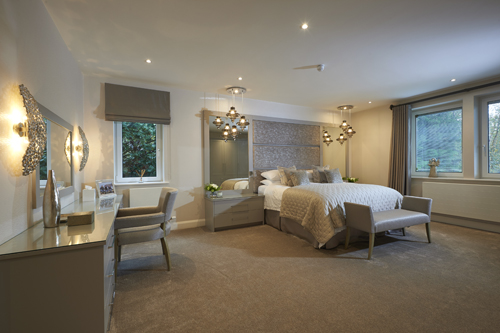 Serene Master Bedroom blackpool